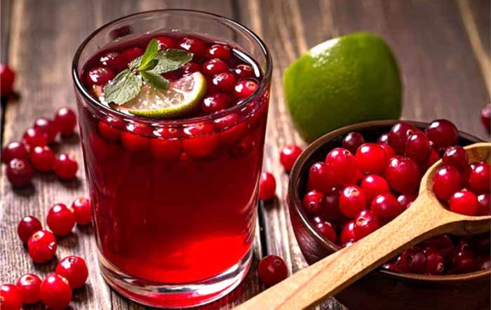 UV-C irradiation as an alternative treatment technique on cranberry-flavored water