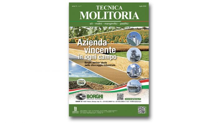 "The July issue of ""Tecnica Molitoria"" is now available"