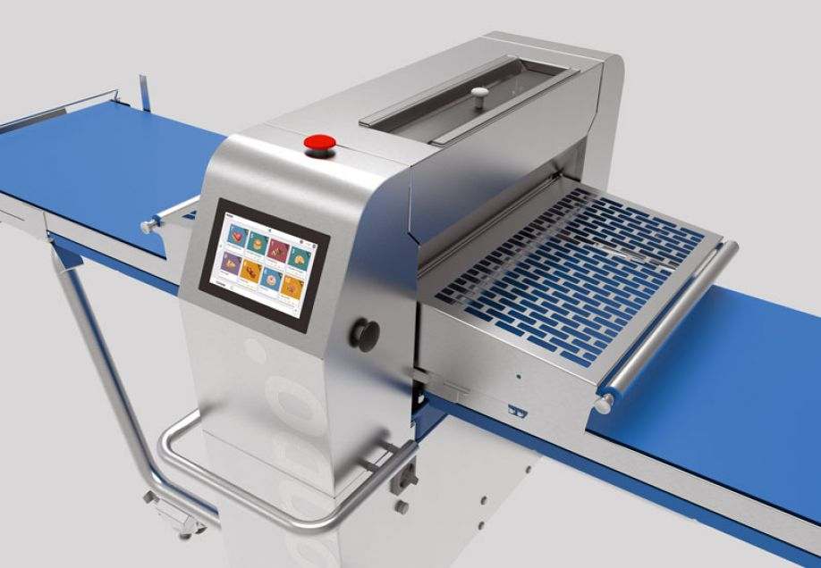 The revolutionary electronic sheeter by RONDO with four individual drives
