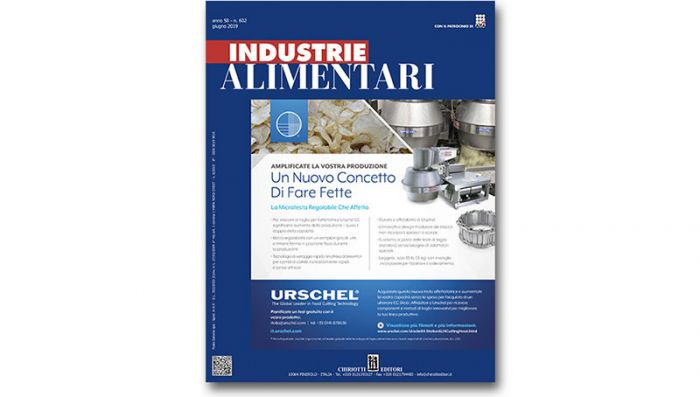 "The June issue of ""Industrie Alimentari"" is now available"